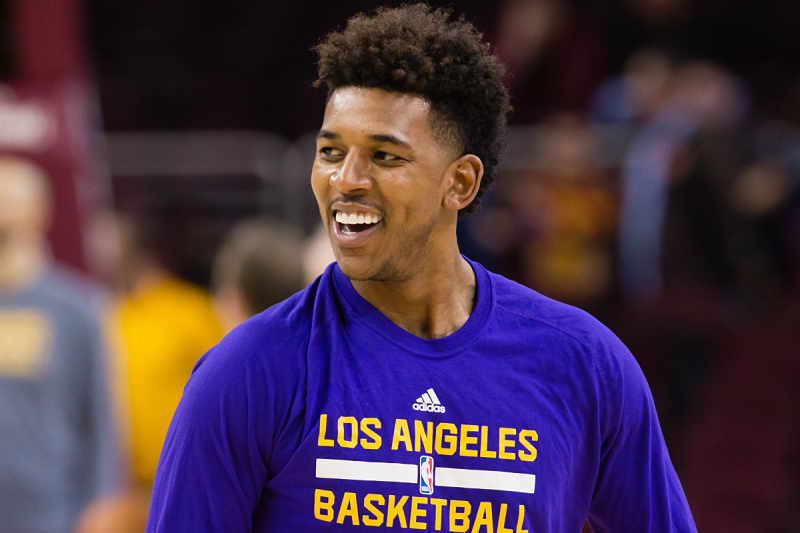 Nick Young de Los Angeles Lakers