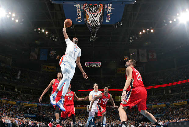 Oklahoma City Thunder contra New Orleans Pelicans