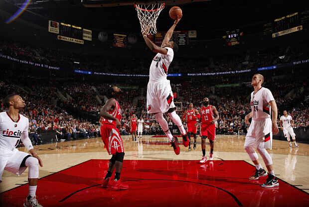 Portland Trail Blazers contra Houston Rockets