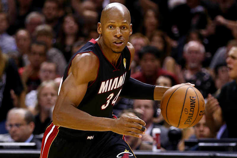 Ray Allen ex jugador de Miami Heat