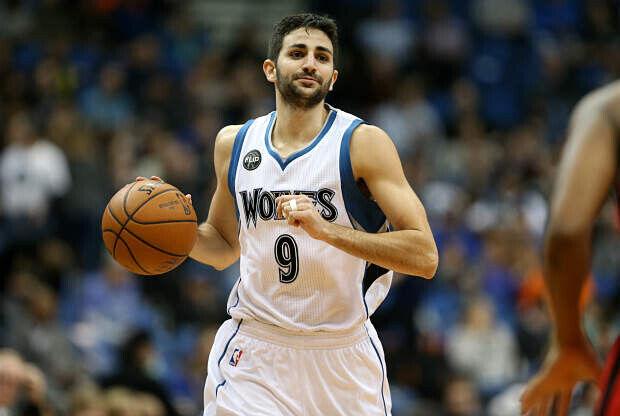 Ricky Rubio de Minnesota Timberwolves