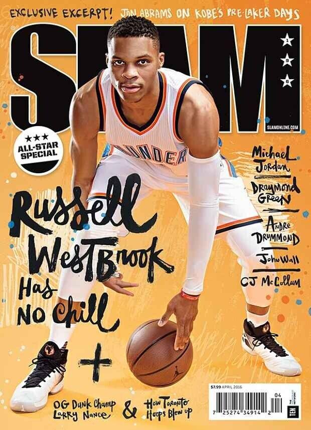 Russell Westbrook, portada de Slam Magazine
