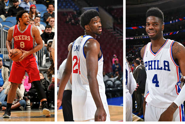 Jóvenes de Philadelphia 76ers
