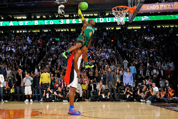 Slam Dunk Contest con Nate Robinson y Dwight Howard
