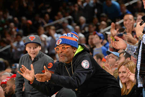 Spike Lee de New York Knicks