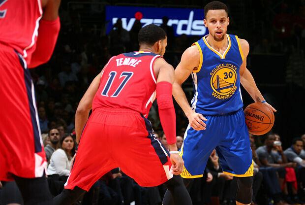 Stephen Curry, jugador de Golden State Warriors