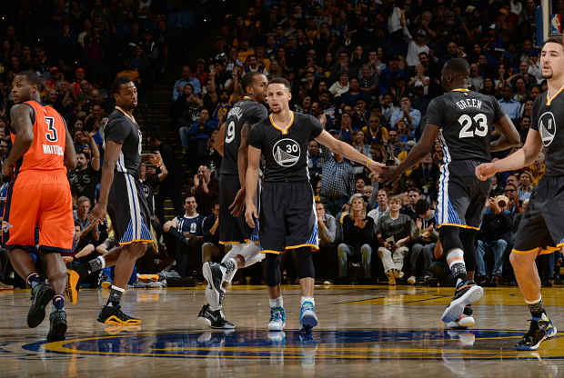 Stephen Curry contra Oklahoma City Thunder