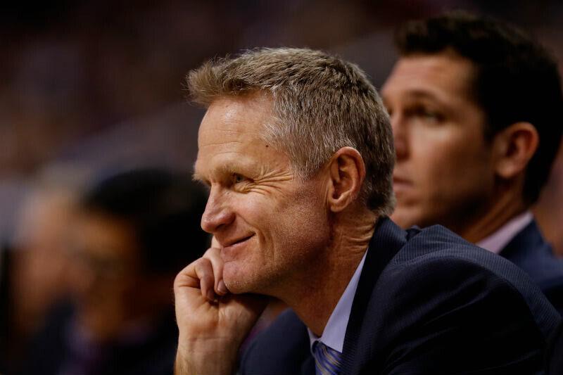 Steve Kerr entrenador Golden State Warriors