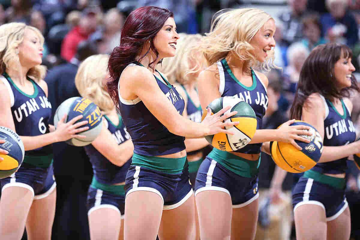 Las Utah Jazz Dancers ponen sensualidad a la NBA