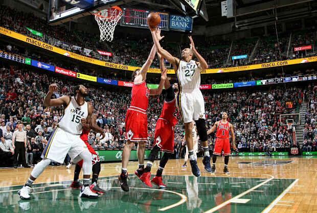 Utah Jazz contra Chicago Bulls