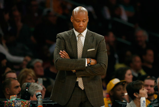 Byron Scott, entrenador Los Angeles Lakers