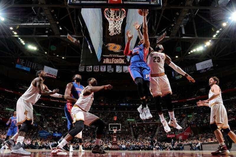 Cleveland Cavaliers perdió ante Detroit Pistons