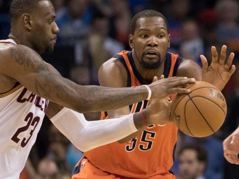 LeBron James contra Kevin Durant