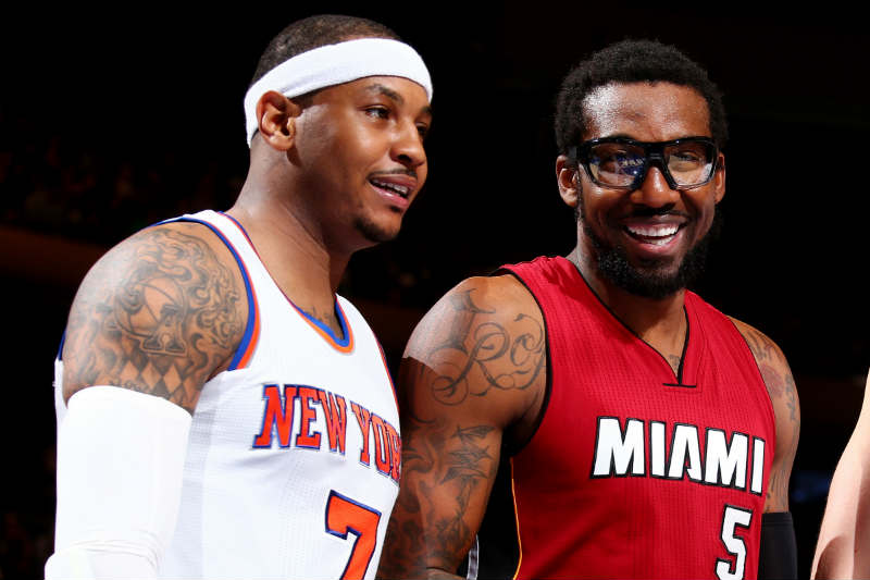 Amare Stoudemire - Carmelo Anthony
