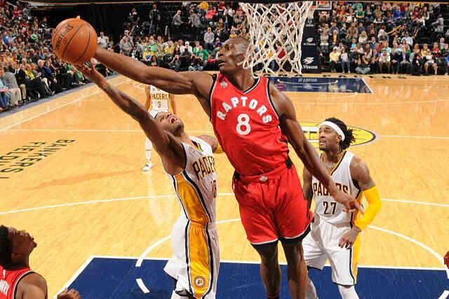 Bismack Biyombo, jugador de Toronto Raptors