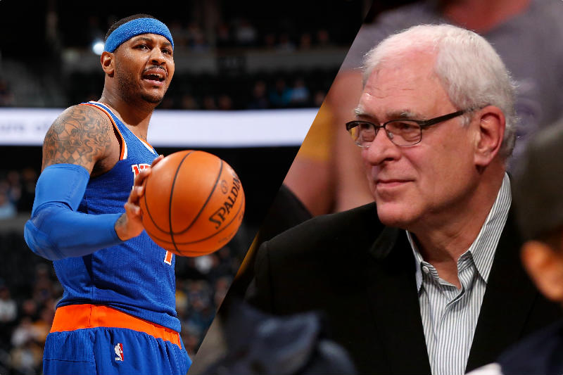 Carmelo Anthony-Phil Jackson