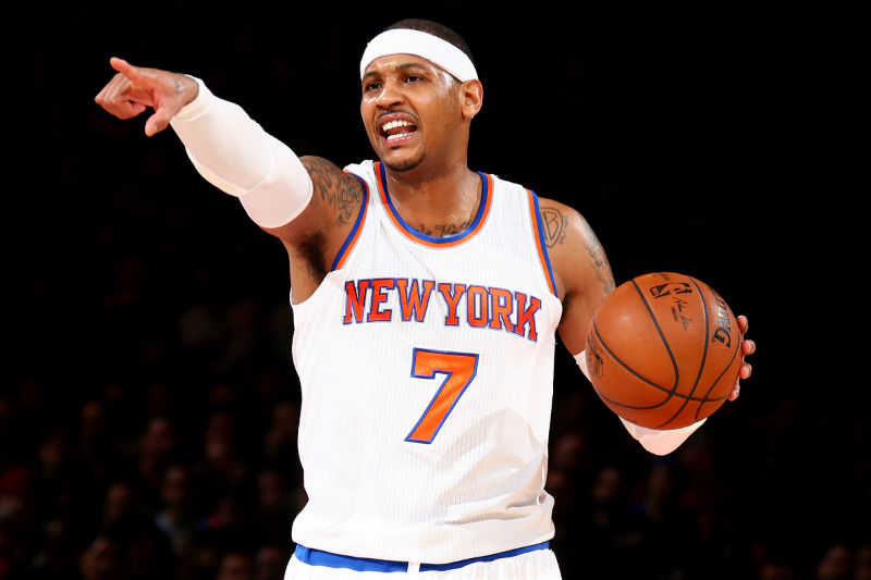 Carmelo Anthony de New York Knicks