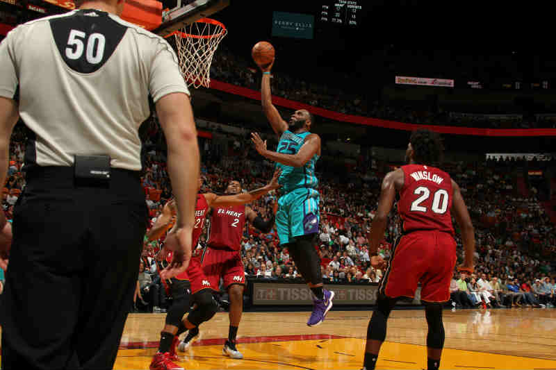 Charlotte Hornets contra Miami Heat