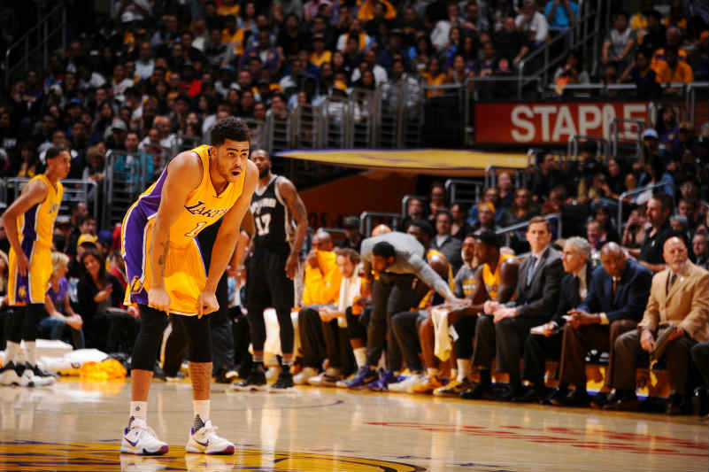 D'Angelo Russell de Los Angeles Lakers
