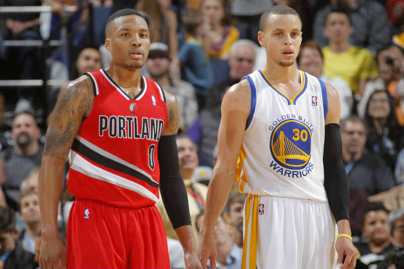 Damian Lillard - Stephen Curry