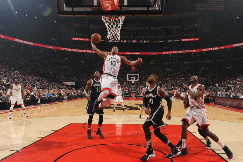 DeMar DeRozan de Toronto Raptors