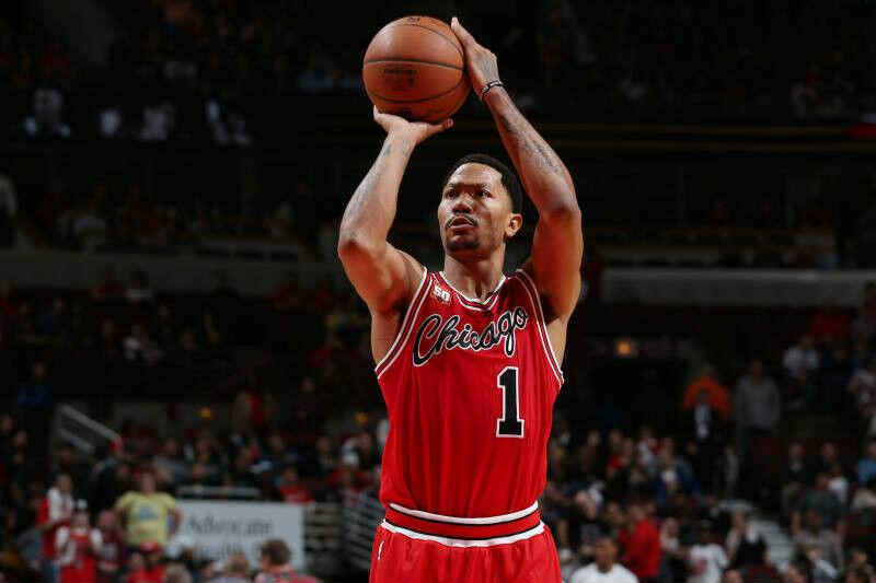 Derrick Rose de Chicago Bulls