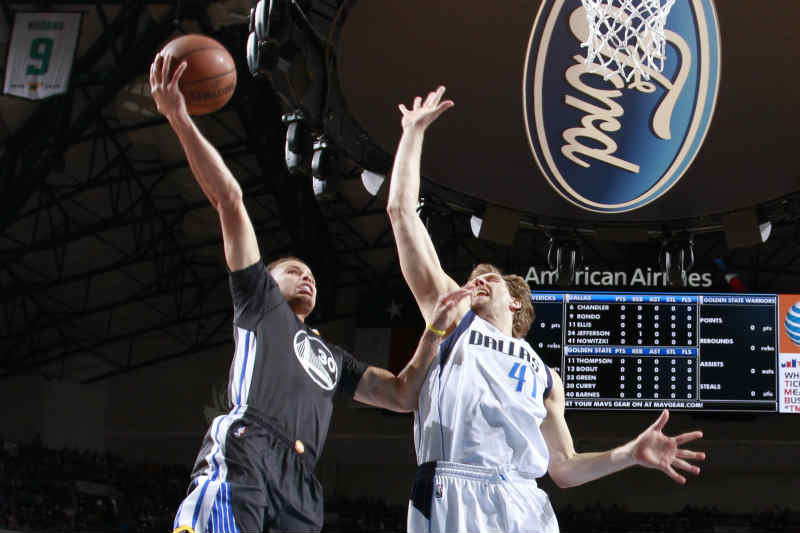 Dirk Nowitzki-Stephen Curry