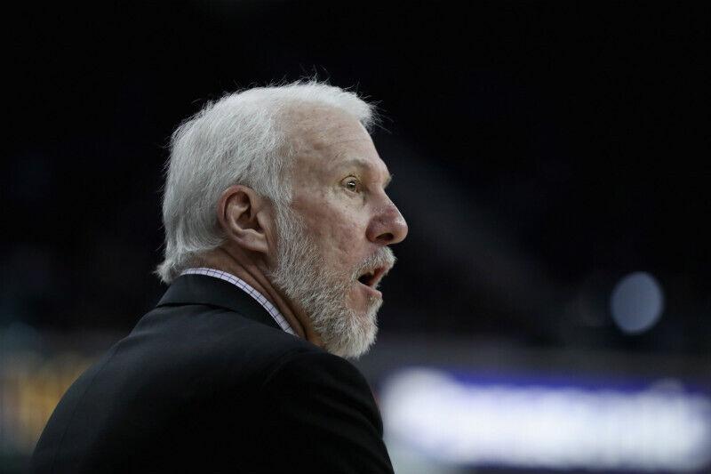 Gregg Popovich de San Antonio Spurs