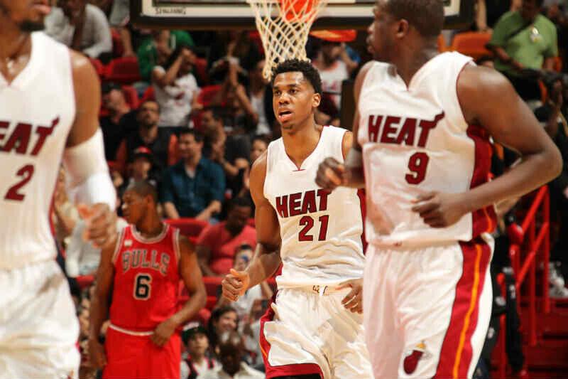 Hassan Whiteside de Miami Heat