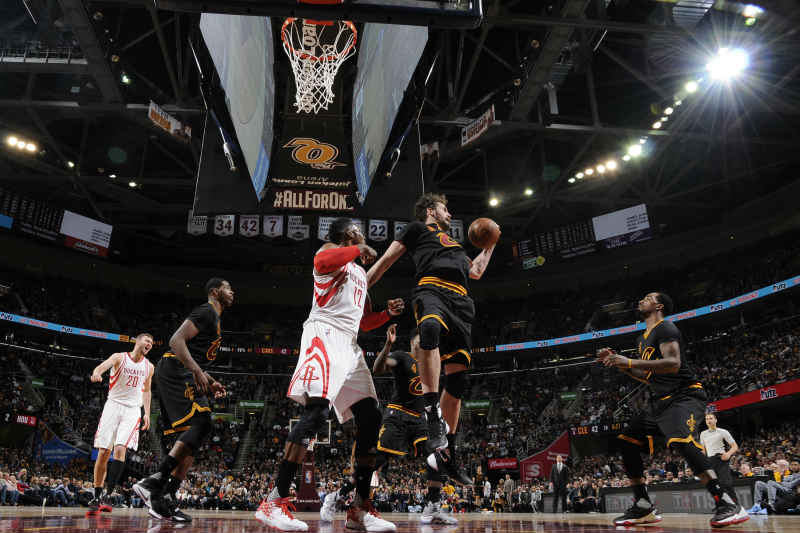 Houston Rockets ante Cleveland Cavaliers