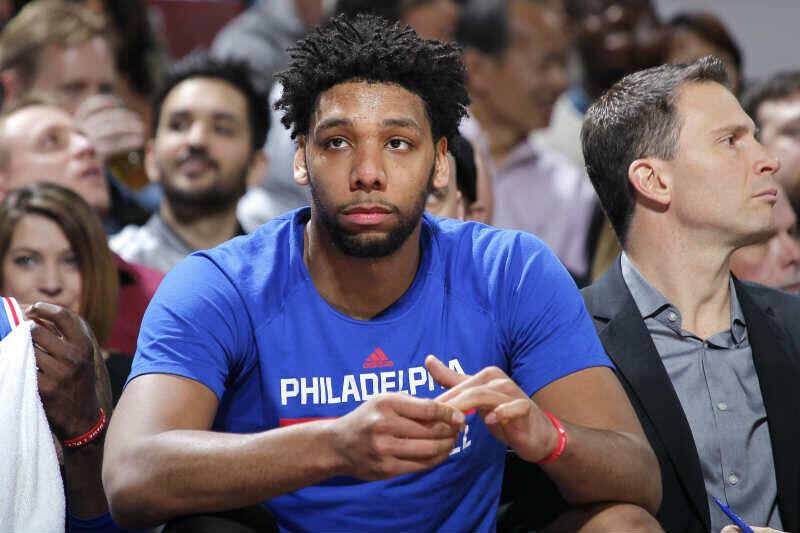 Jahlil Okafor de Philadelphia 76ers