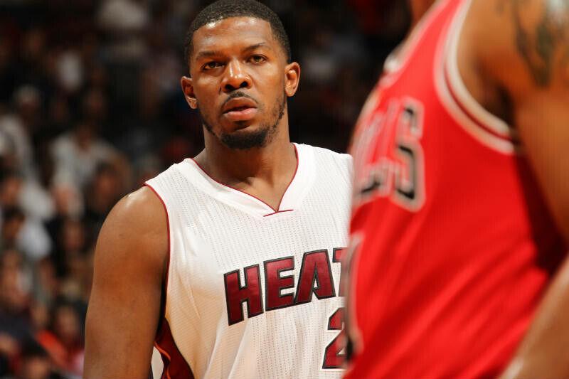 Joe Johnson de Miami Heat