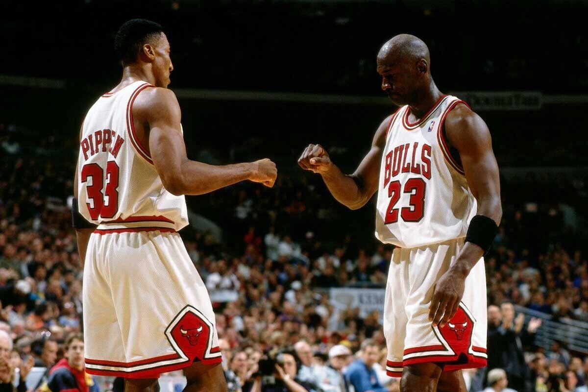 Las diabluras de Michael Jordan y Scottie Pippen en Chicago Bulls