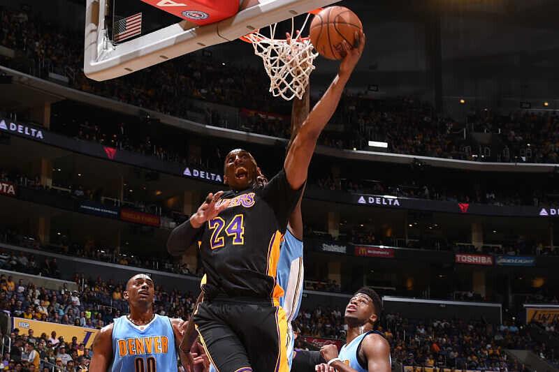 Kobe Bryant, protagonista en el NBA Top 10