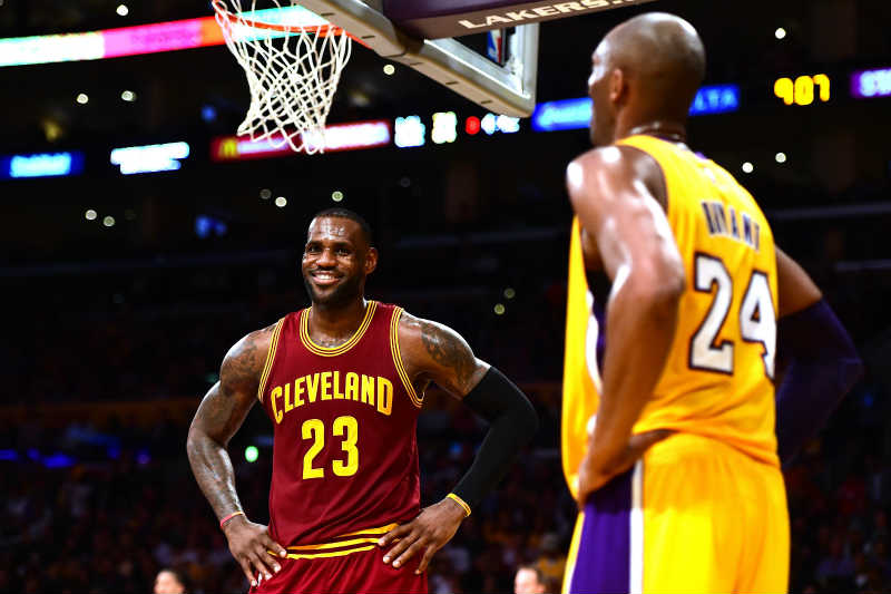Kobe Bryant-LeBron James