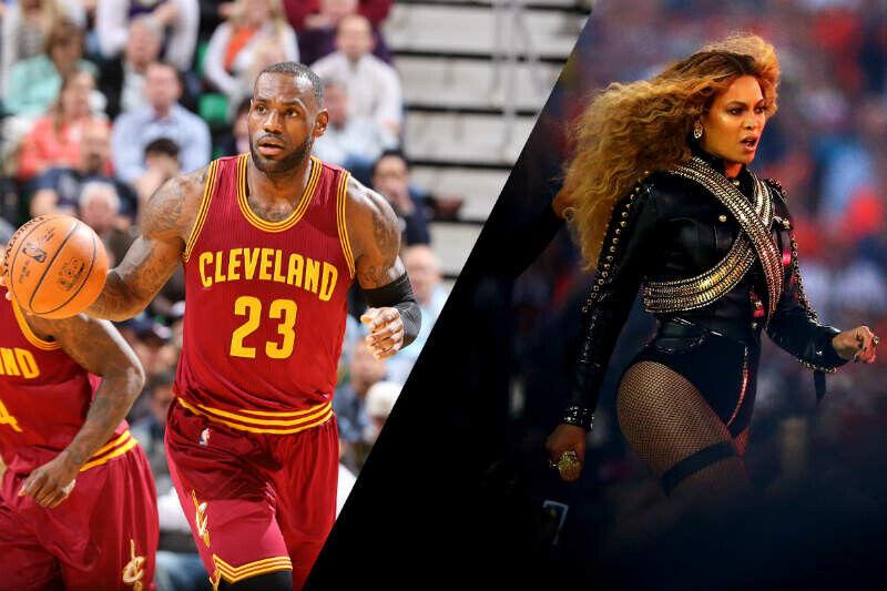 LeBron James y Beyonce, estrellas del siglo XXI
