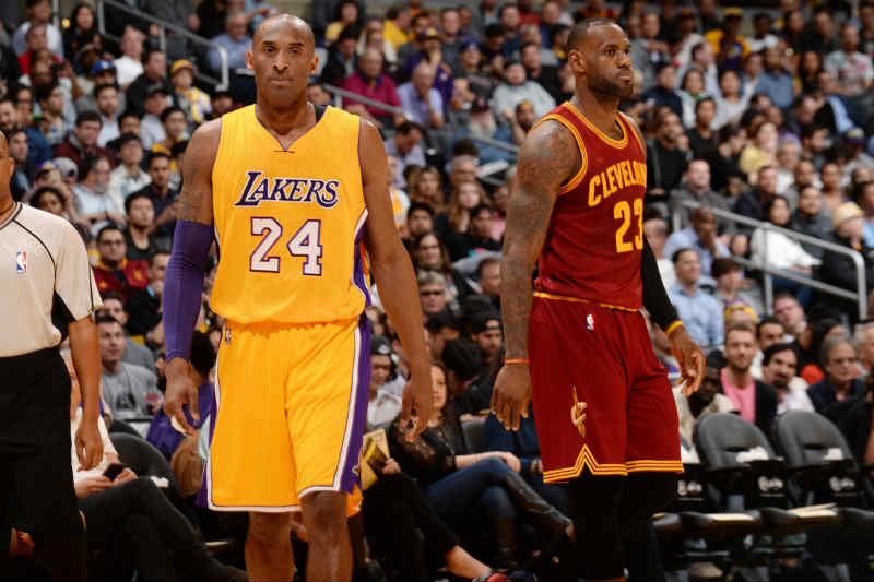 LeBron James-Kobe Bryant