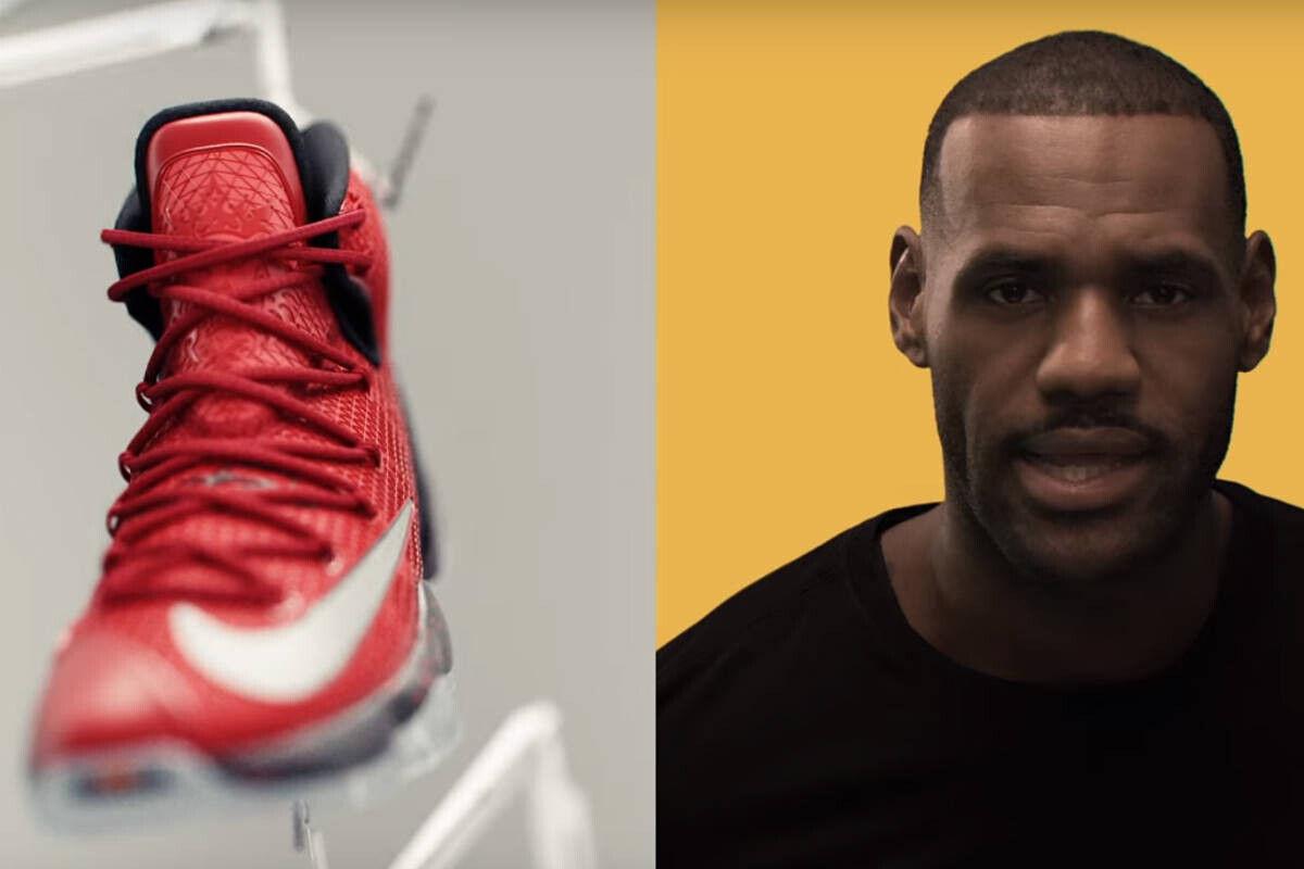 LeBron James tiene nuevo modelo de zapatillas