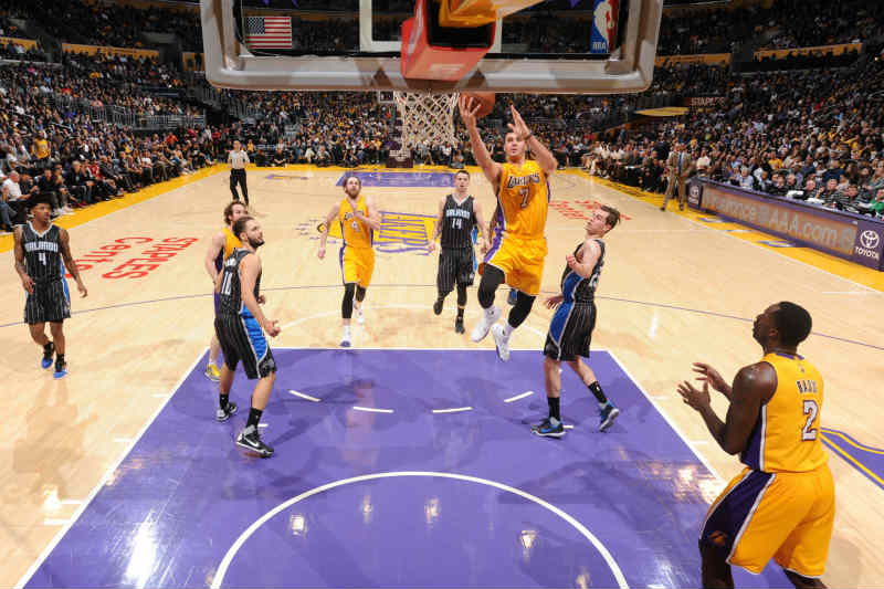 Los Angeles Lakers contra Orlando Magic