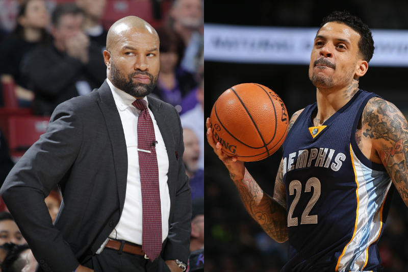 Matt Barnes-Derek Fisher