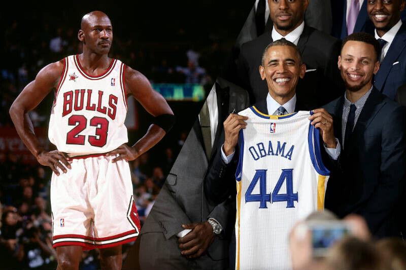Colonos Misterio digerir  Obama pone a Stephen Curry a la altura de Michael Jordan