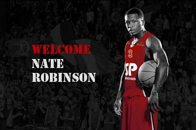 Nate Robinson, jugador del Hapoel