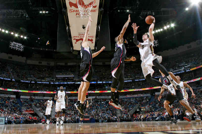 New Orleans Pelicans contra Los Angeles Clippers