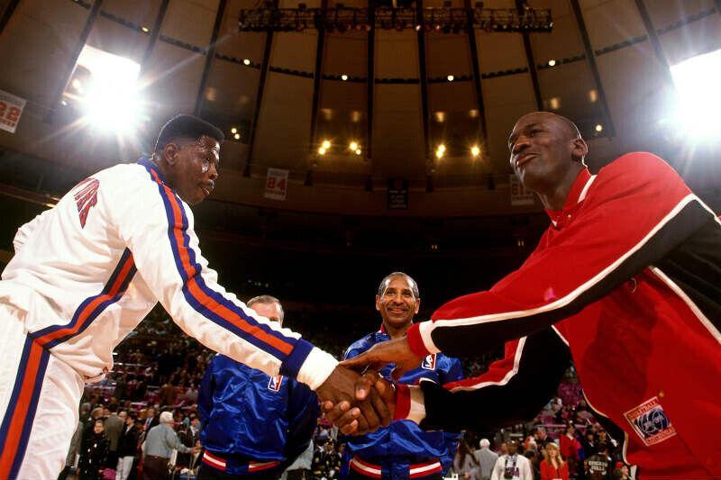 Patrick Ewing-Michael Jordan