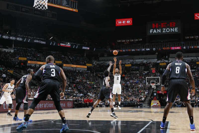San Antonio Spurs contra Los Angeles Clippers