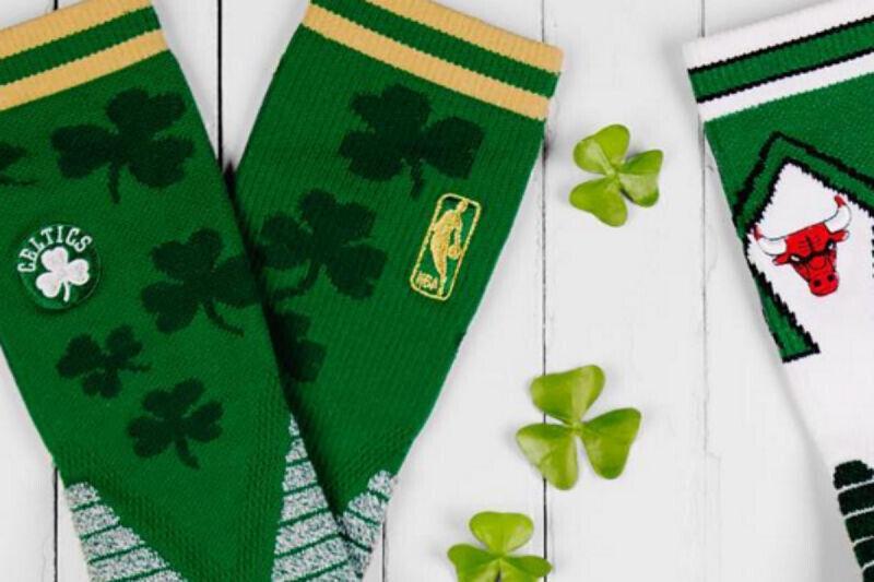 Los jugadores de la NBA llevarán calcetines verdes en San Patricio