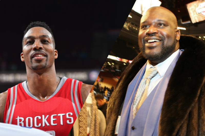 Shaquille O'Neal-Dwight Howard