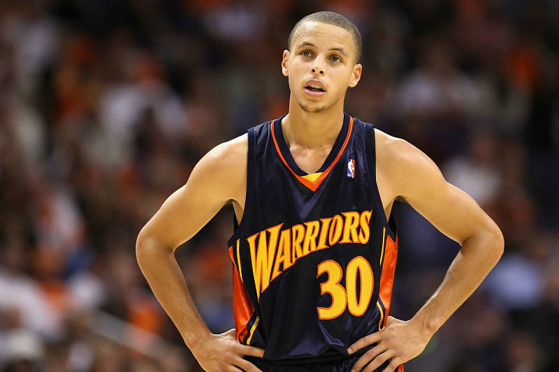 Stephen Curry en 2009
