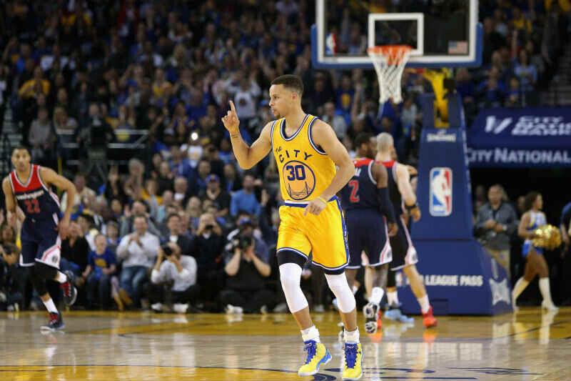 Stephen Curry de Golden State Warriors