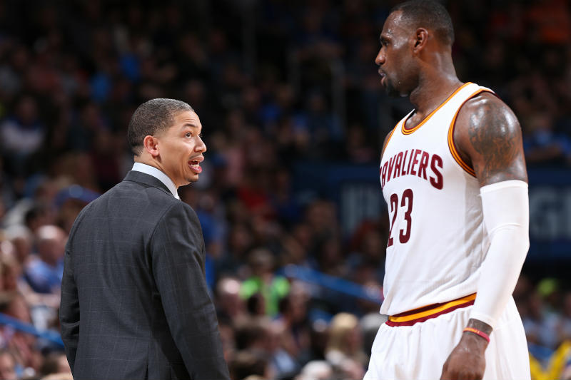 Tyronn Lue-LeBron James